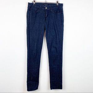 Flying Monkey Skinny Dark Wash Denim Jeans 27